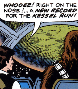 Making the Kessel Run
